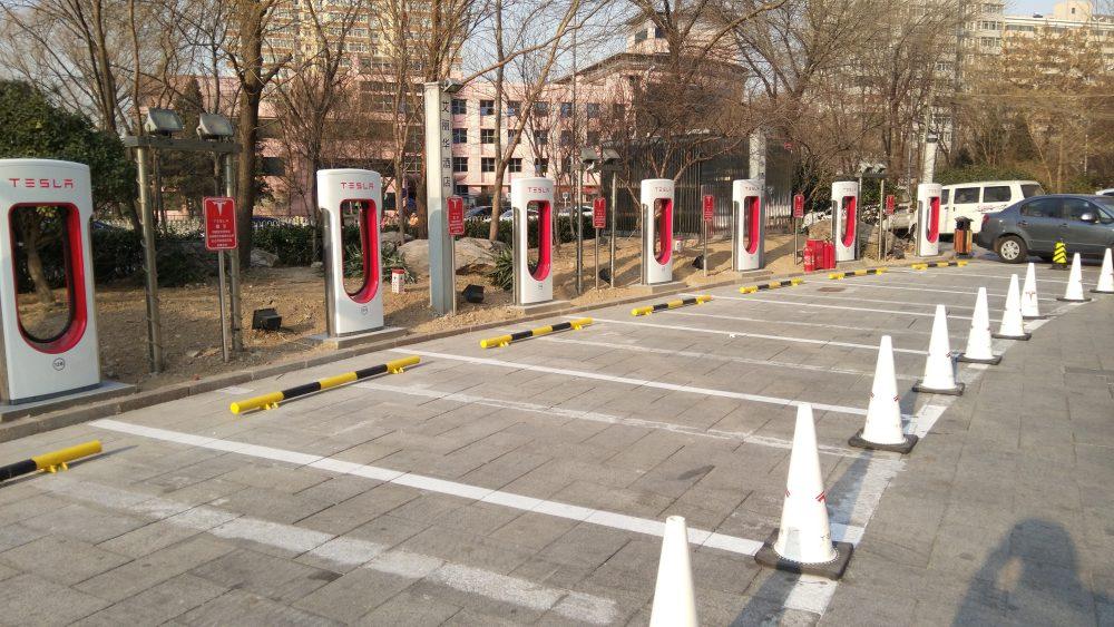 افتتاح أكبر محطة شحن كهرباء لسيارات تيسلا في العالم 3