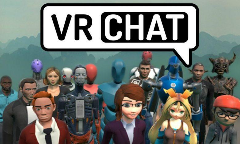 شعار لعبة VRChat