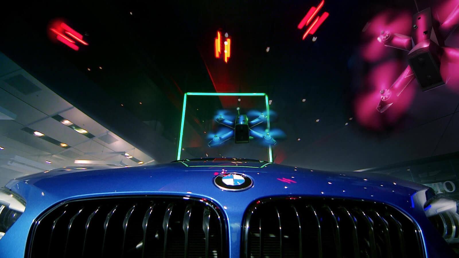 BMW قد تصنع أسرع درون سباقات في العالم