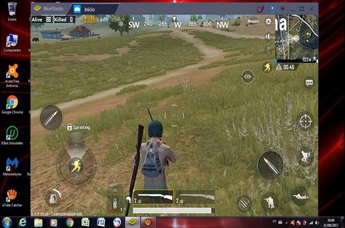 تشغيل لعبة pubg mobile على الكمبيوتر