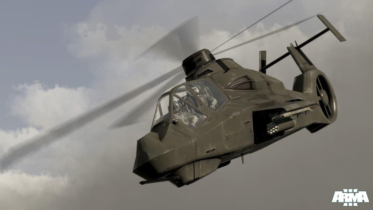 متطلبات تشغيل Arma 3 Helicopters