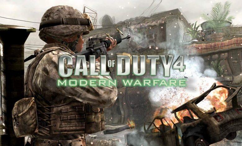 متطلبات تشغيل Call of Duty 4