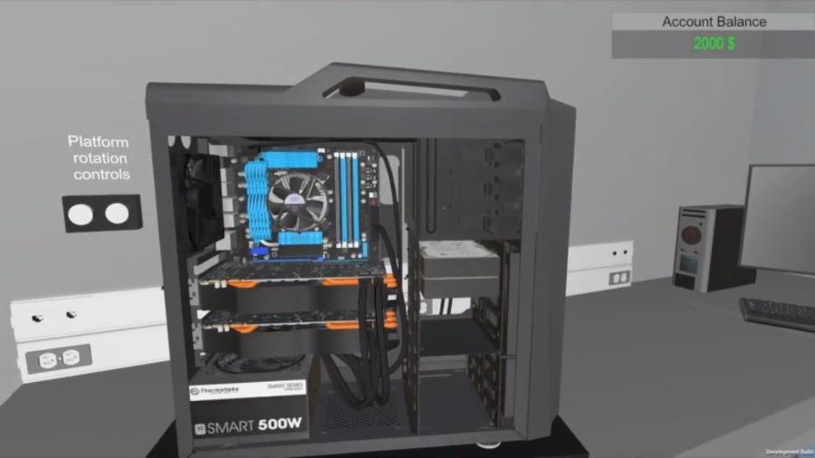 متطلبات تشغيل PC Building Simulator