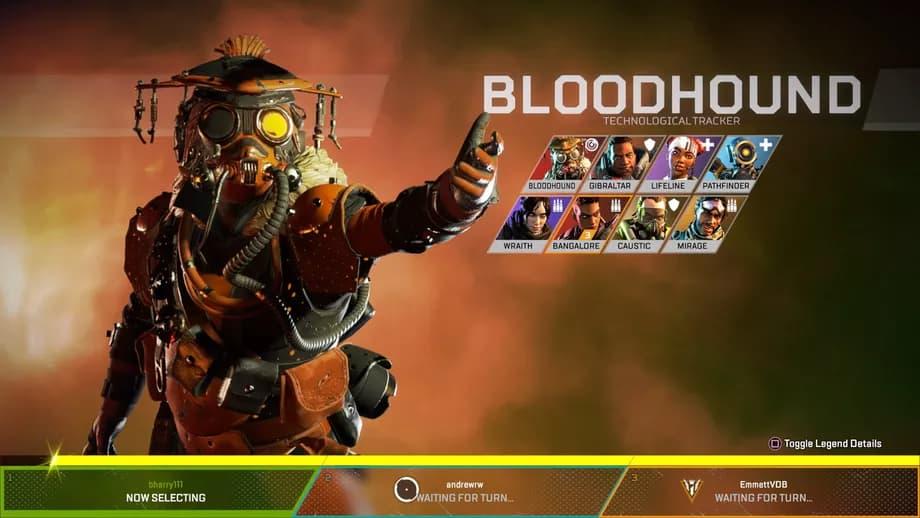 شخصيات Apex Legends Bloodhound