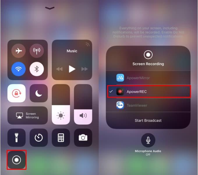 تسجيل PUBG Mobile على iOS باستخدام ApowerREC3