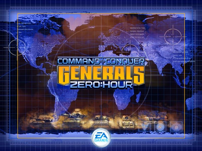 متطلبات تشغيل Command & Conquer Generals Zero Hour