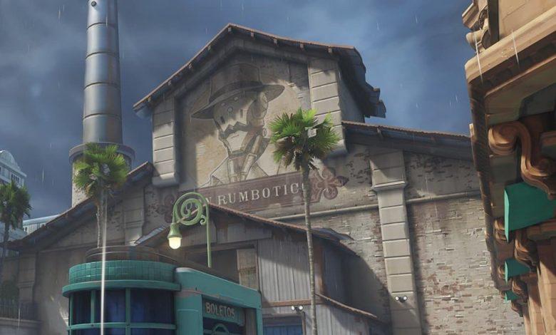 خريطة Havana على Overwatch