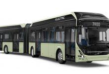 volvo 7900 articulated حافلة تعمل بالكهرباء