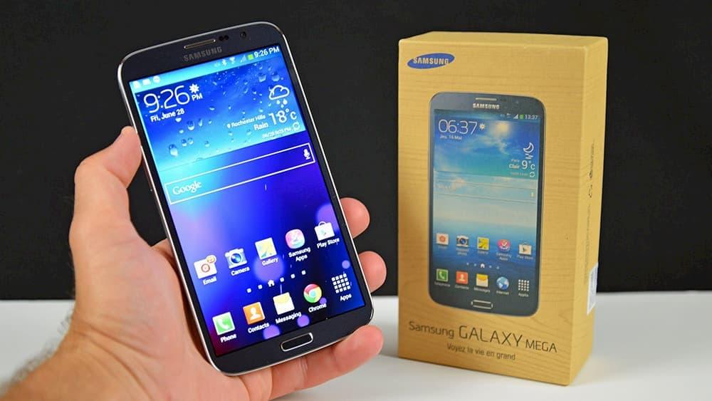 سامسونج تخطط لهواتف أكبر حجماً مع Galaxy Mega 1
