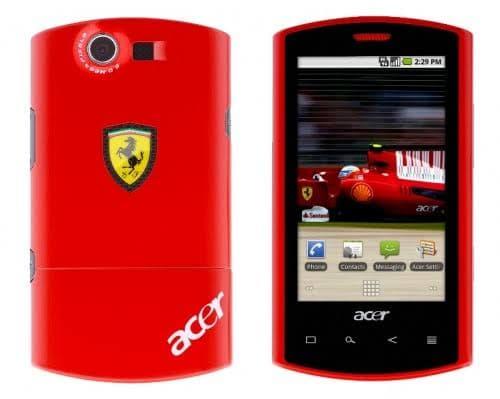 هاتف Acer Liquid S100 Ferrari Red فى مصر 1