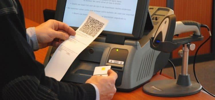 كيف تعمل آلات التصويت الإلكترونية؟ 1
