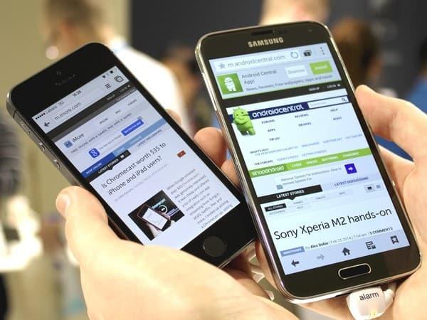 مقارنة الهواتف الذكية: ايفون مقابل جالكسي ونيكسوس وغيرهما 7