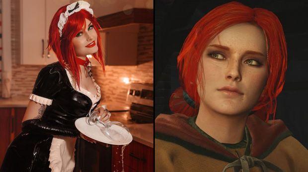 كوسبلاير تثير الاهتمام و تشعل الاجواء بشخصية Triss Merigold من Witcher 3