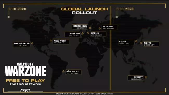 تنزيل وتشغيل لعبة Call of Duty: Warzone 1