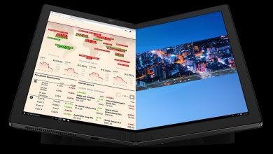 Lenovo ThinkPad X1 Fold: أول لابتوب مع شاشة قابلة للطي