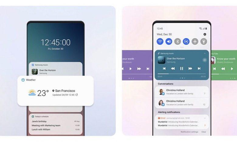 أهم مميزات تحديث One UI 3.0