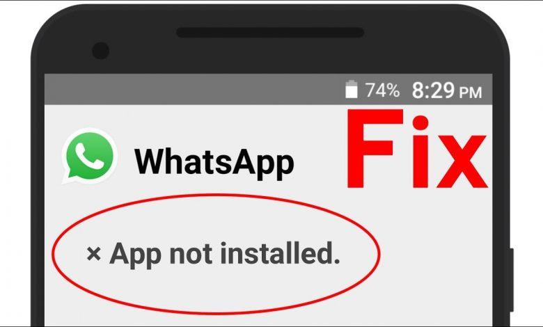 حل مشكلة التطبيق ليس مثبتا لهواتف الأندرويد