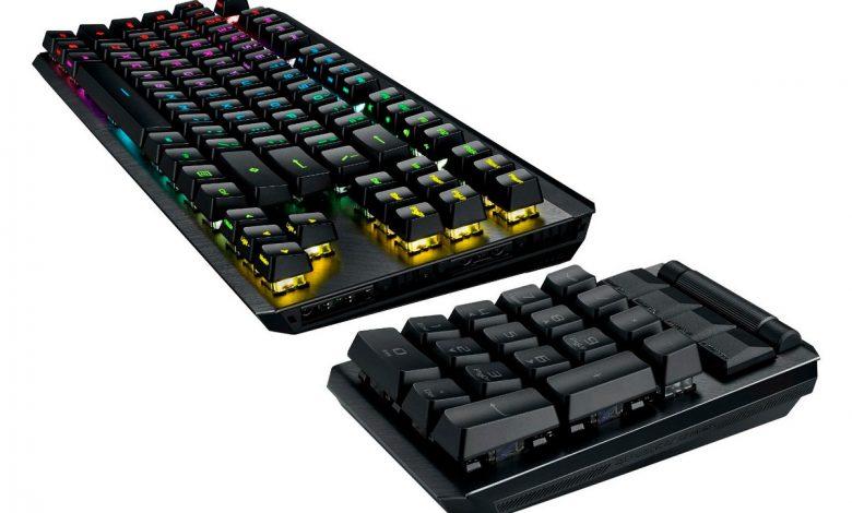 لوحة مفاتيح ASUS ROG Claymore II