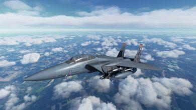 إضافة طائرة F-15 Eagle قادمة إلى Microsoft Flight Simulator