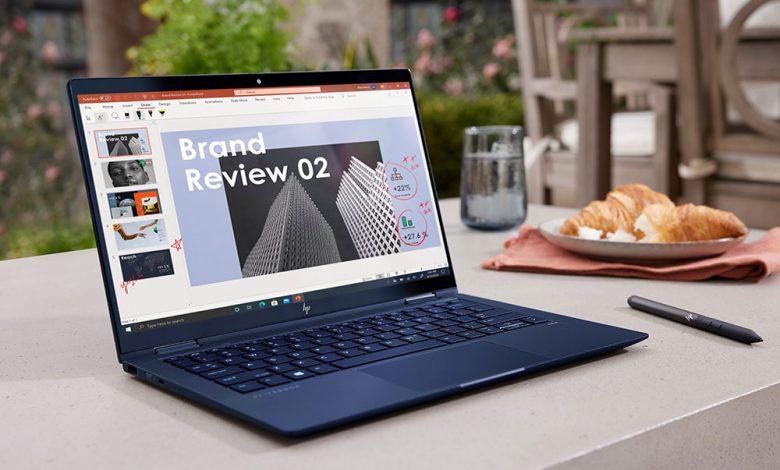 الإعلان عن لابتوب HP Dragonfly Max و Dragonfly G2