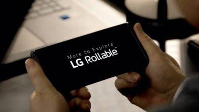 إل جي تكشف عن LG Rollable هاتف مع شاشة قابلة للتمديد