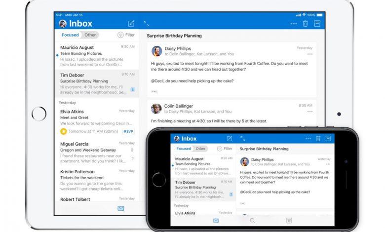 مايكروسوفت تطور تطبيق Outlook يناسب ويندوز والماك