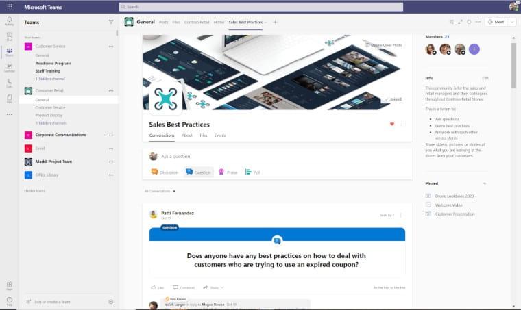 تحديث Yammer من مايكروسوفت ليحصل على مميزات جديدة 3