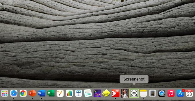 كيفية تغيير مجلد حفظ لقطات الشاشة على macOS Big Sur 1