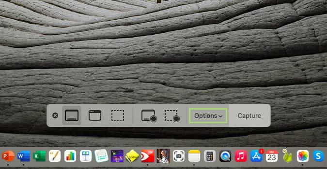 كيفية تغيير مجلد حفظ لقطات الشاشة على macOS Big Sur 2