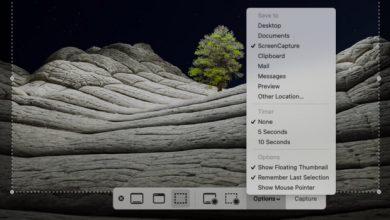 كيفية تغيير مجلد حفظ لقطات الشاشة على macOS Big Sur