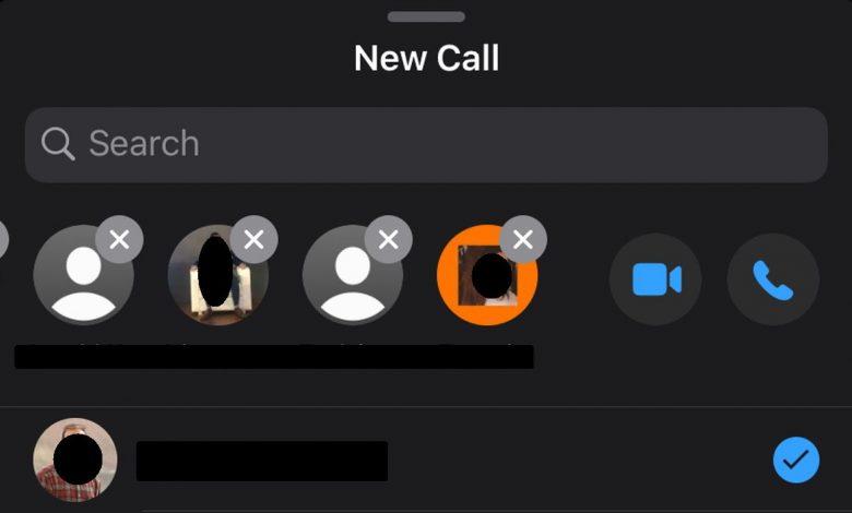 بدء مكالمة فيديو واتساب جماعية مع 8 أشخاص