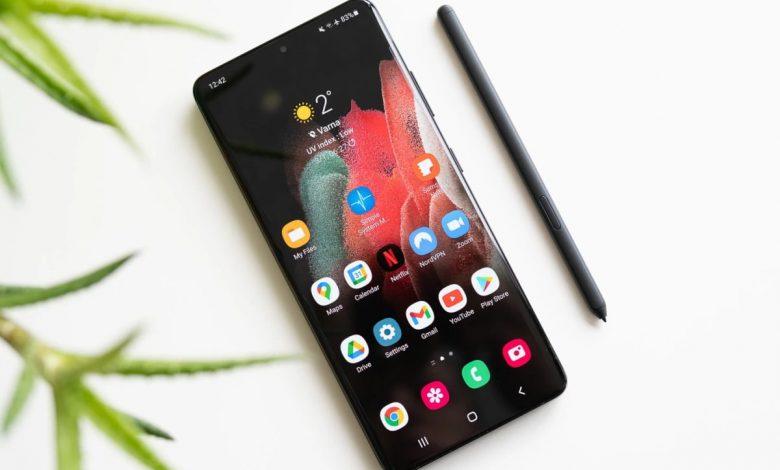 تجربة القلم على Galaxy S21 Ultra من سامسونج