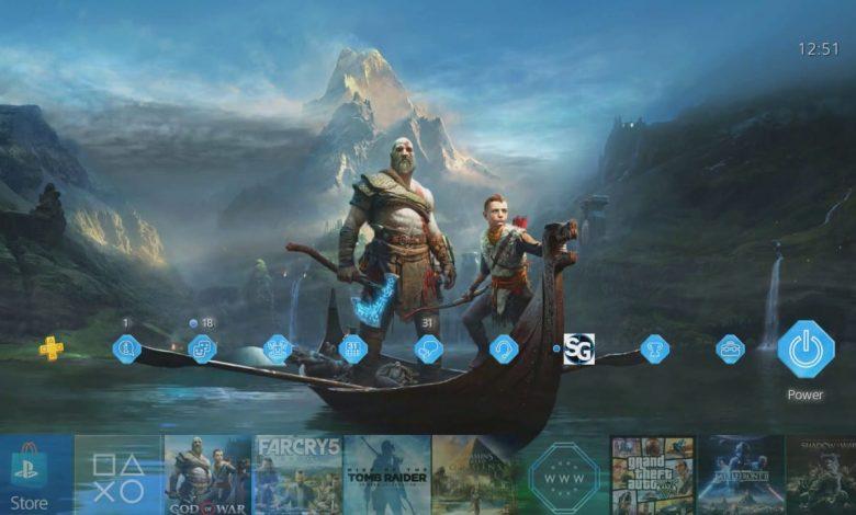 ثيم God of War جديد على PSN يُلمّح إلى إصدار جديد
