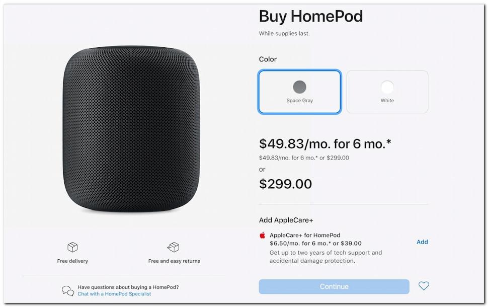 أبل ستتوقف عن بيع HomePod للتركيز على بيع إصدار Mini 1